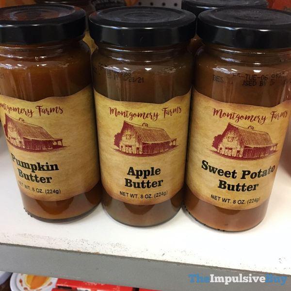 Montgomery Farms Pumpkin Butter Apple Butter and Sweet Potato Butter