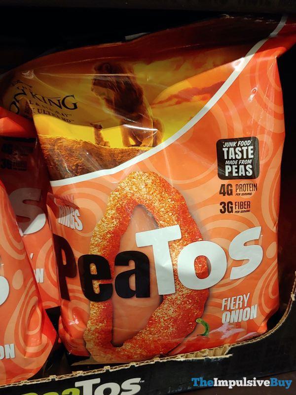 Peatos Fiery Onion Crunchy Rings