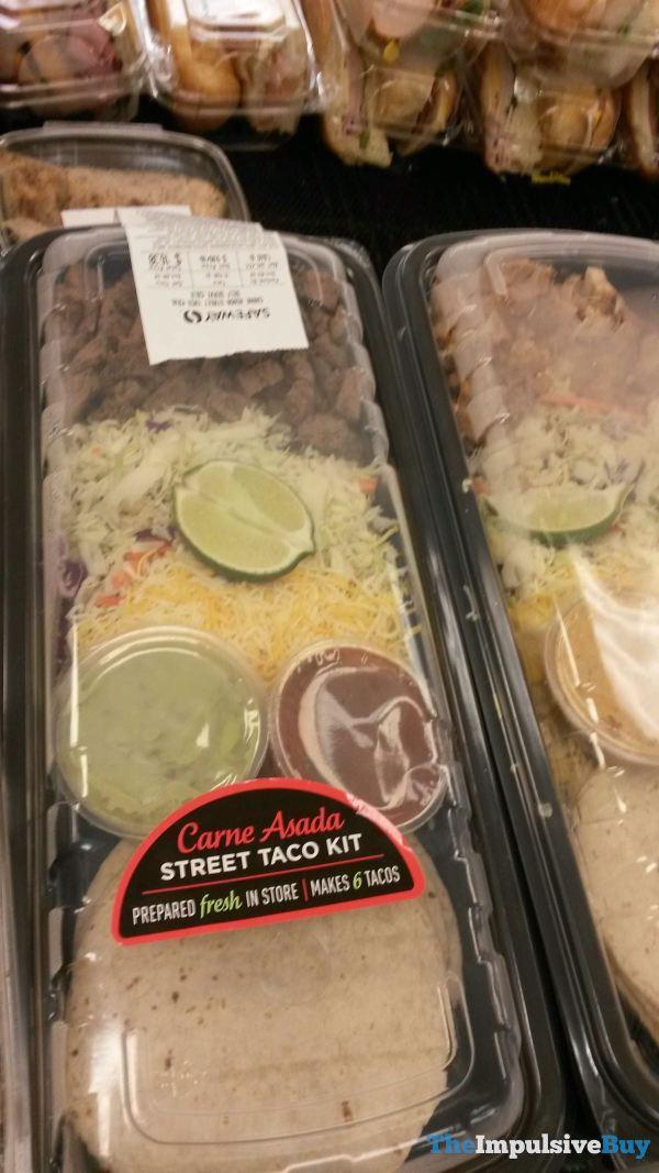 Safeway Carne Asada Street Taco Kit