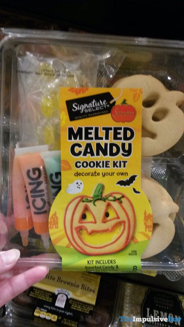 Signature Select Seasons Melted Candy Cookie Kit