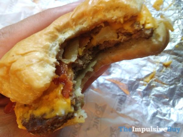 Review Sonic Garlic Butter Bacon Burger The Impulsive Buy