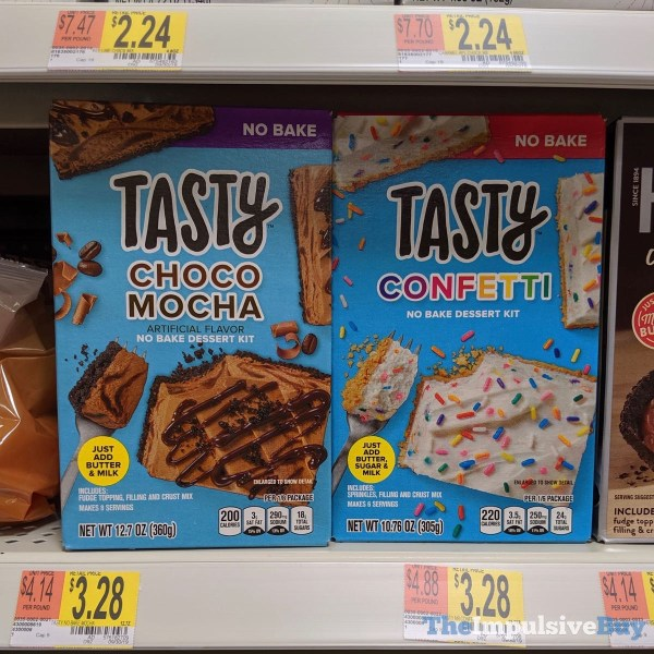 Tasty Choco Mocha and Confetti No Bake Dessert Kits