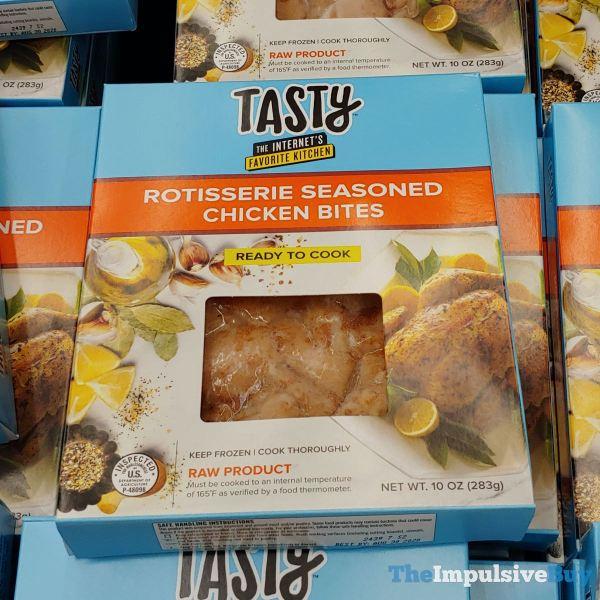Tasty Rotisserie Seasoned Chicken Bites