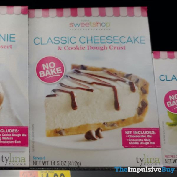 Tylina Sweetshop Classic Cheesecake  Cookie Dough Crust Kit