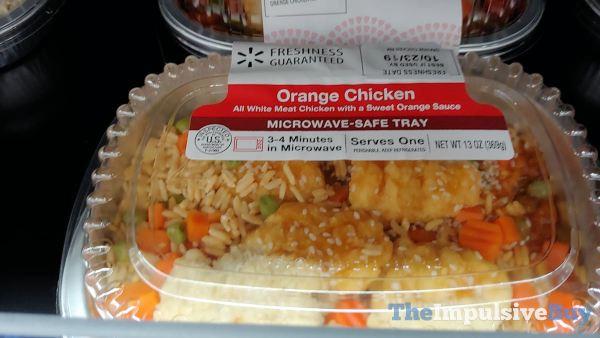 Walmart Orange Chicken