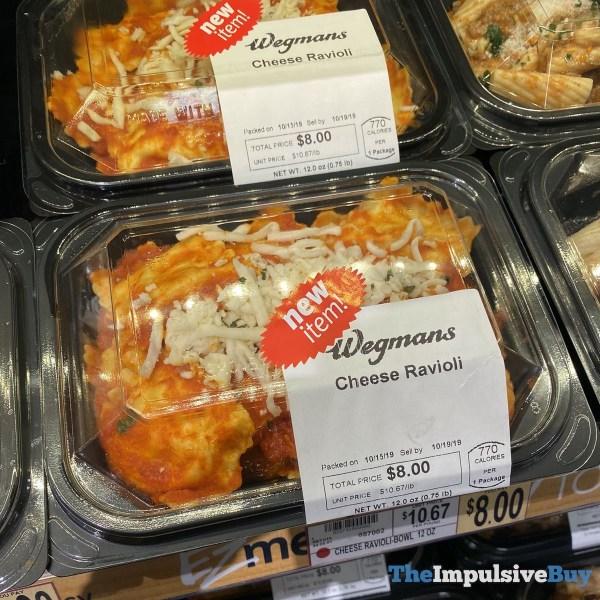 Wegmans Cheese Ravioli