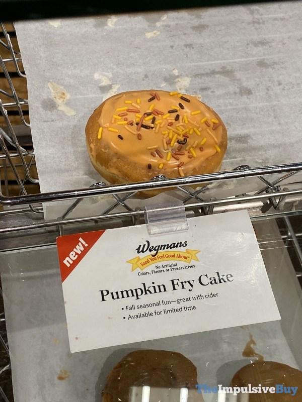 Wegmans Pumpkin Fry Cake
