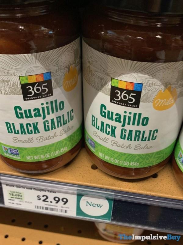 365 Everyday Value Guajillo Black Garlic Small Batch Salsa