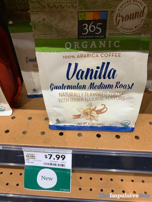 365 Everyday Value Organic Vanilla Guatemalan Medium Roast