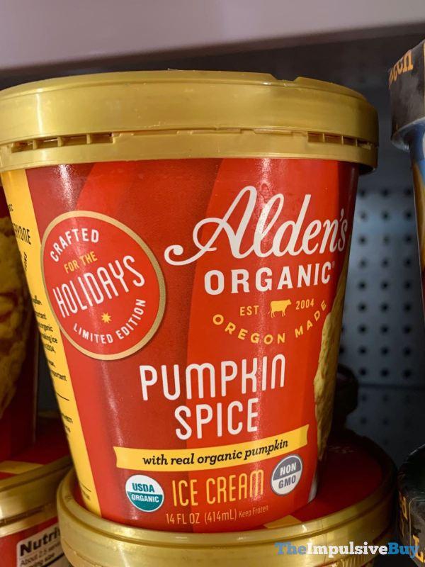 Alden s Organic Pumpkin Spice Ice Cream