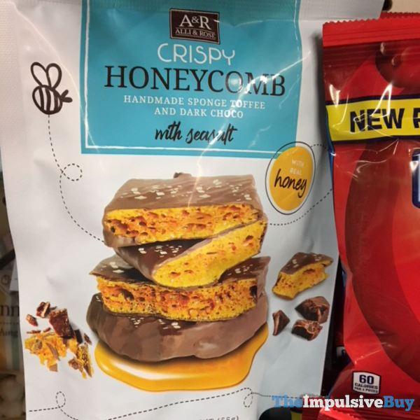 Alli  Rose Crispy Honeycomb with Sea Salt