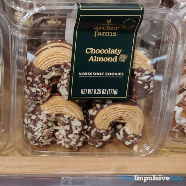 Archer Farms Deluxe Edition Chocolaty Almond Horseshoe Cookies