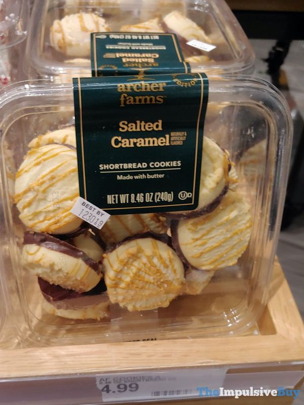 Archer Farms Deluxe Edition Salted Caramel Shortbread Cookies