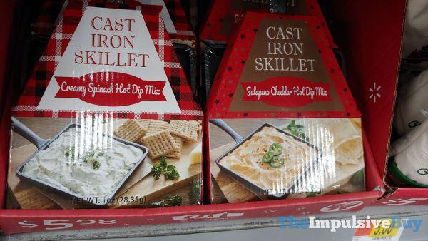 Cast Iron Skillet Creamy Spinach Hot Dip Mix