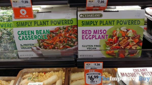 Cedar Lane Simply Plant Powered Green Bean Casserole and Red Miso Eggplant