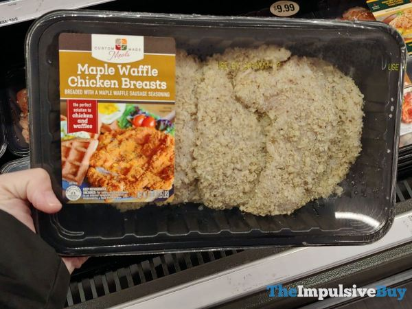 Custom Made Foods Maple Waffle Chicken Breasts