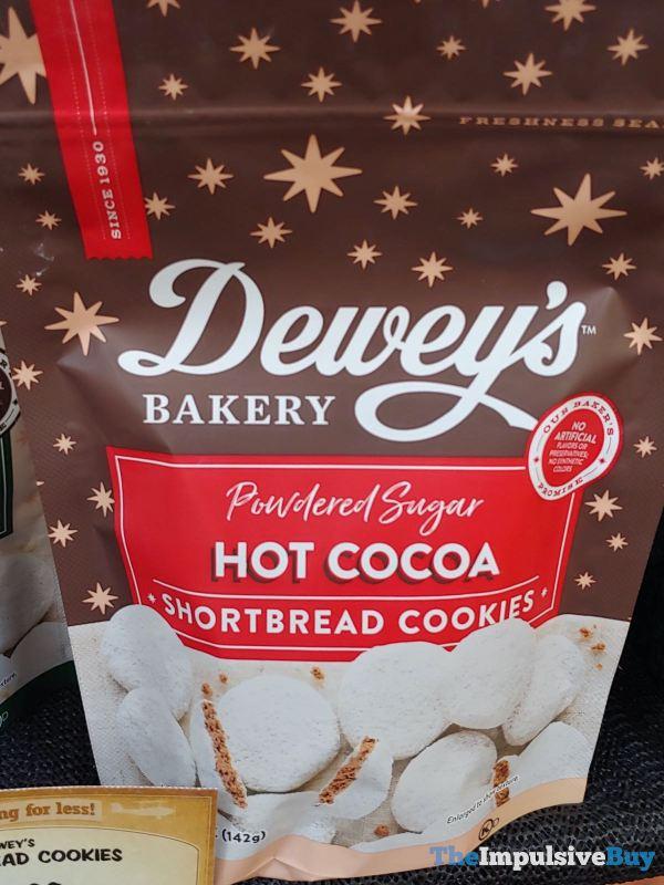 Dewey s Bakery Powdered Sugar Hot Cocoa Shortbread Cookies