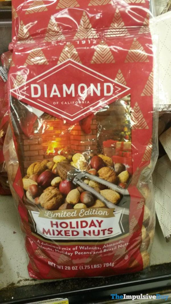 Diamond Limited Edition Holiday Mixed Nuts