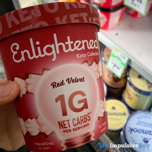 Enlightened Keto Collection Red Velvet Ice Cream