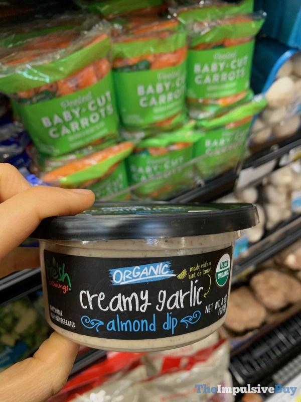 Fresh Cravings Organic Creamy Garlic Almond Dip