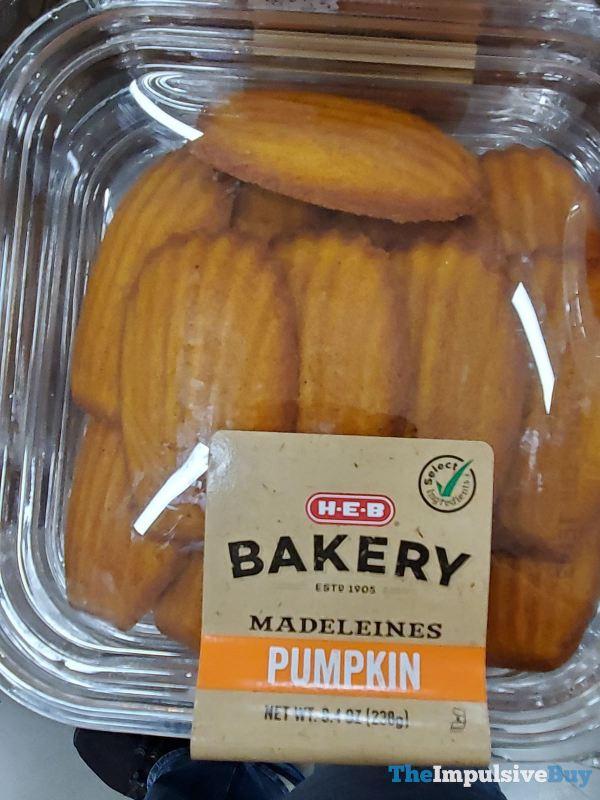 H E B Bakery Madeleines Pumpkin