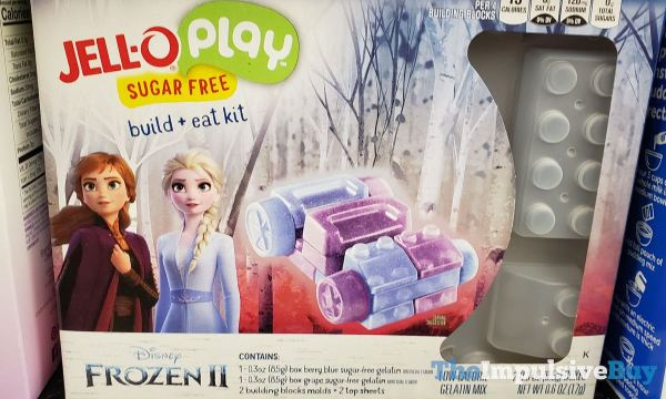 Jello Play Disney Frozen II Sugar Free Build + Eat Kit