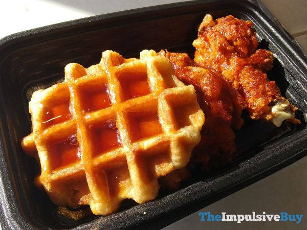 KFC Nashville Hot Chicken  Waffles Syrup