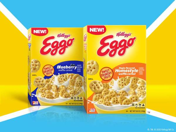 Kellogg s Eggo Waffle Cereal