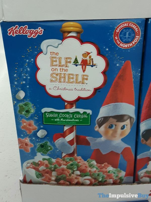 Kellogg s The Elf on the Shelf Sugar Cookie Cereal with Marshmallows 2