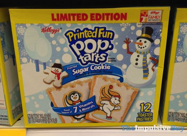 LImited Edition Sugar Cookie Pop Tarts 2014