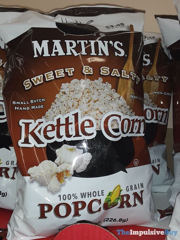 Martin s Sweet  Salty Kettle Corn