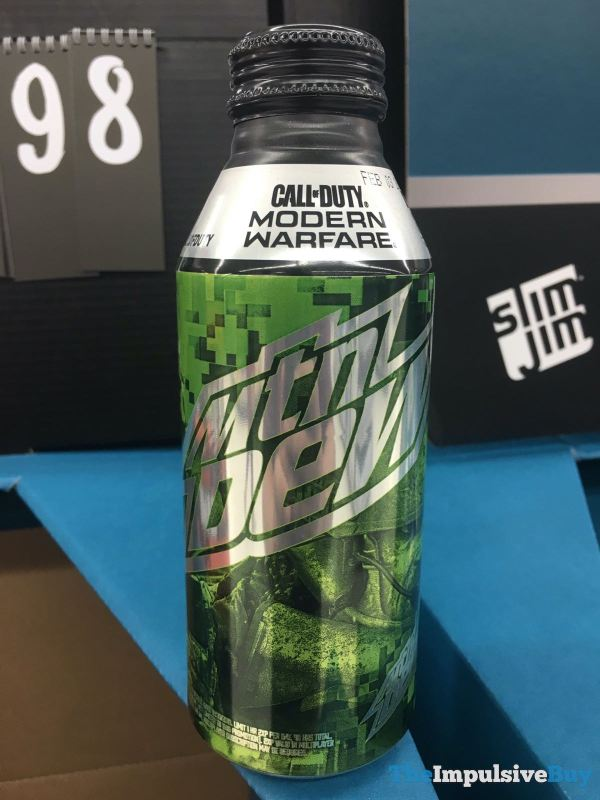 Mtn Dew Call of Duty Modern Warfare Twist Top