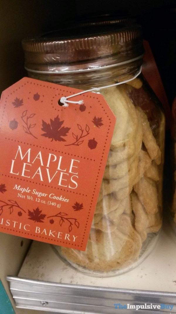 Rustic Bakery Maple Leaves Maple Sugar Cookies