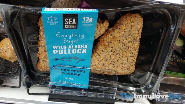 Sea Cuisine Everything Bagel Wild Alaska Pollock
