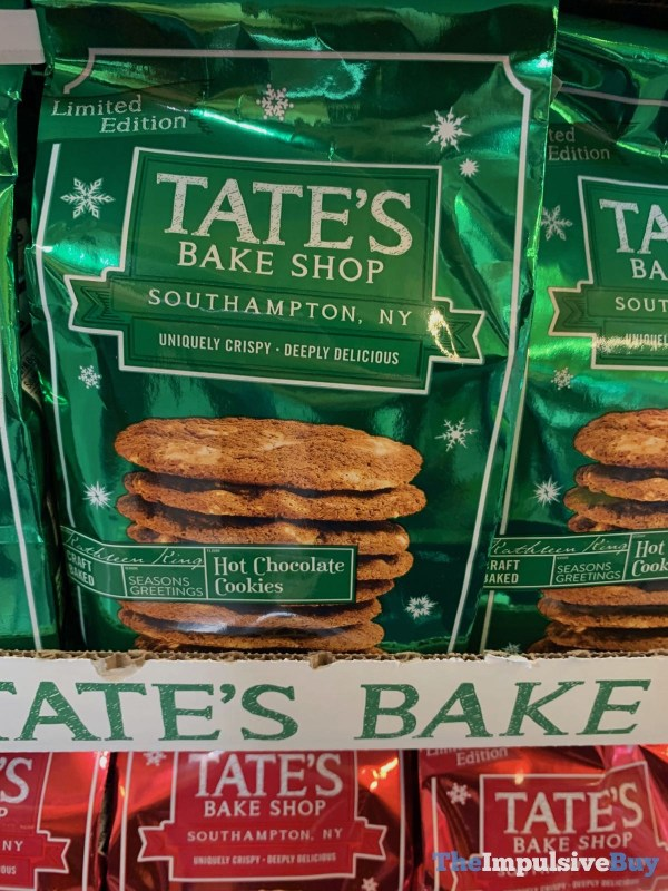 Tate s Bake Shop Limited Edition Hot Chocolate Cookies