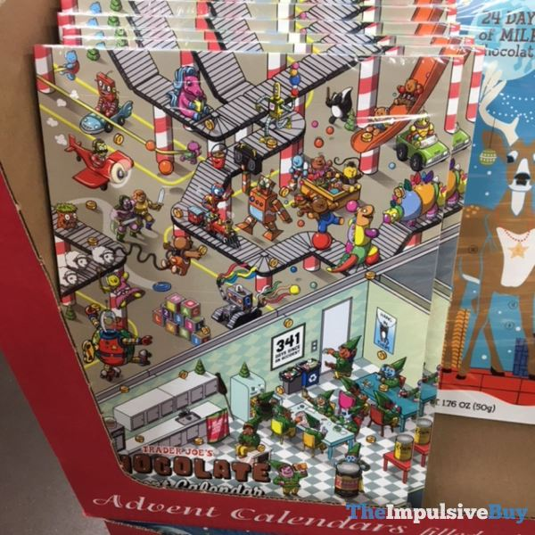 Trader Joe s Chocolate Advent Calendar 2019