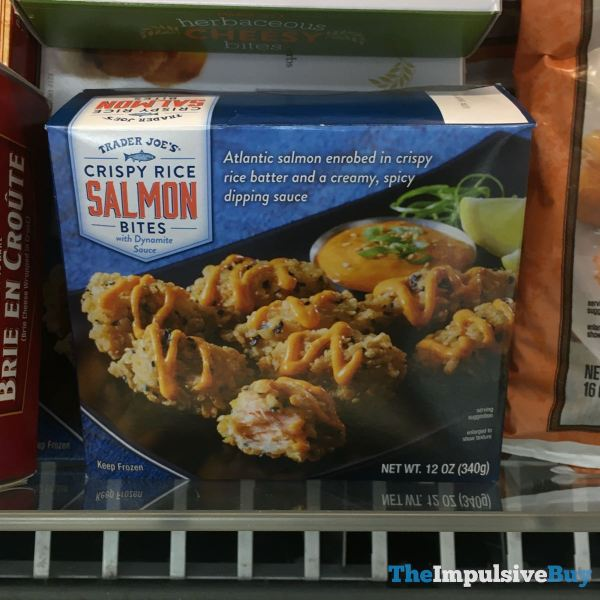 Trader Joe s Crispy Rice Salmon Bites
