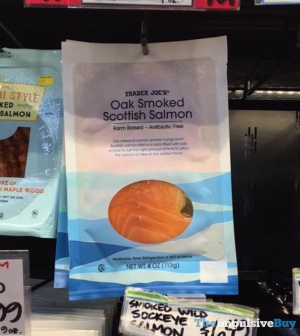 Trader Joe s Oat Smoked Scottish Salmon