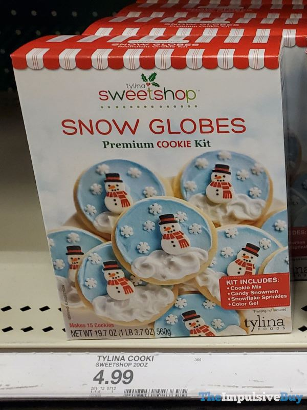 Tylina Sweetshop Snow Globes Premium Cookie Kit