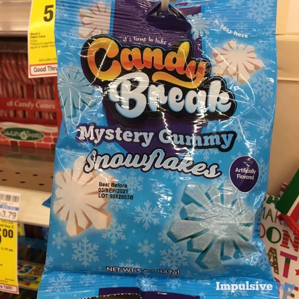 Candy Break Mystery Gummy Snowflakes