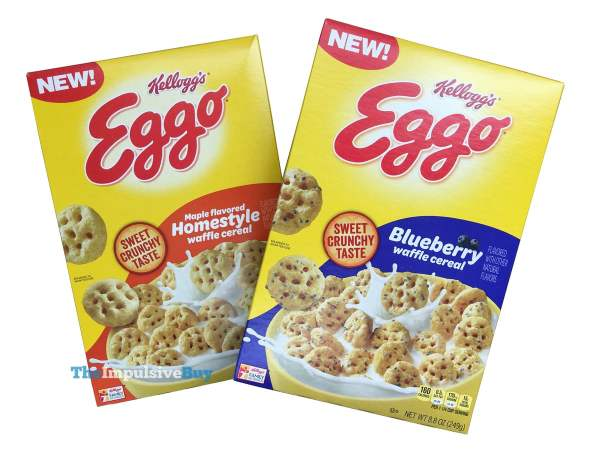 Kellogg s Eggo Cereal  2019