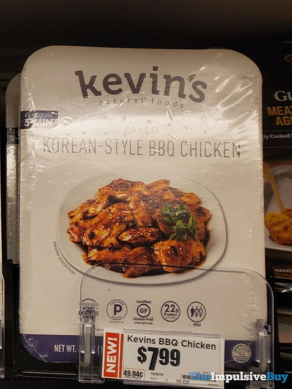 Kevin s Natural Foods Paleo Korean Style BBQ Chicken