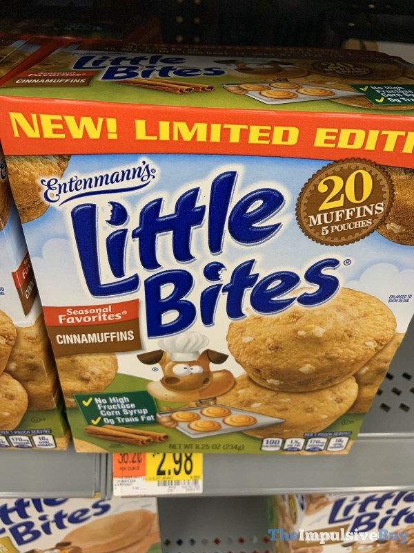 Limited Edition Entenmann s Cinnamuffins Little Bites