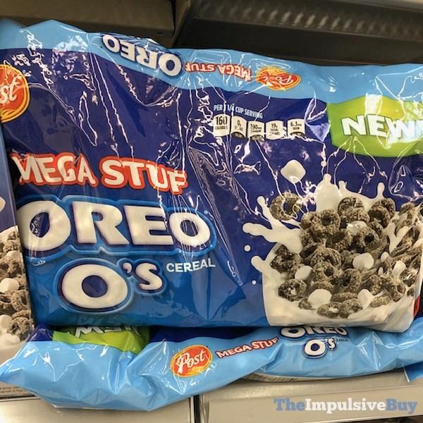 Post Mega Stuf Oreo O s Cereal Bag