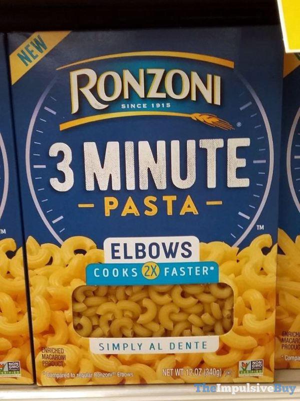 Ronzoni 3 Minute Pasta Elbows