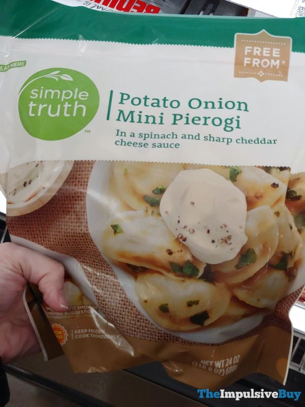 Simple Truth Potato Onion Mini Pierogi