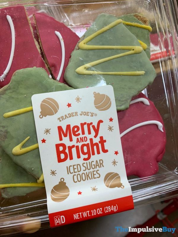 Trader Joe s Merry and Bright Iced Sugar Cookies