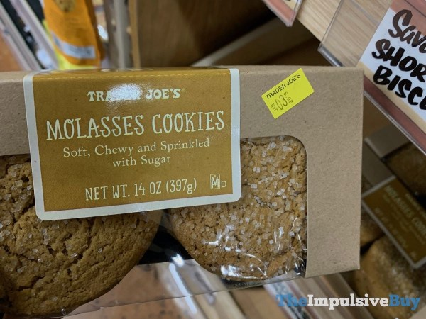 Trader Joe s Molasses Cookies