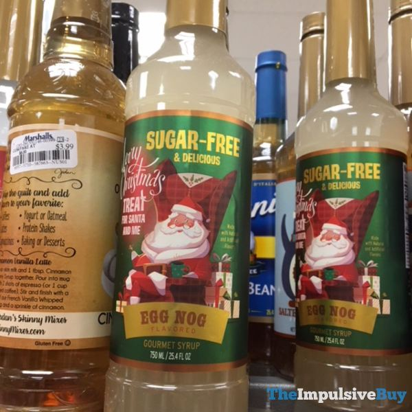 Treat For Santa and Me Egg Nog Gourmet Syrup