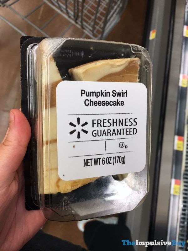 Walmart Pumpkin Swirl Cheesecake